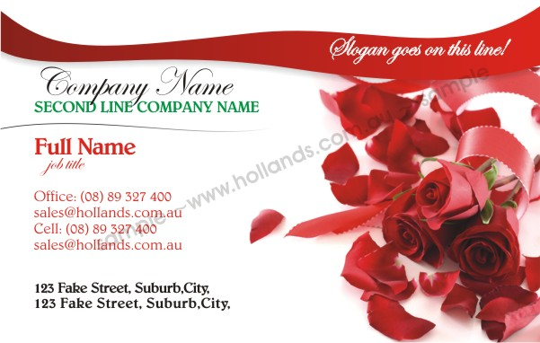 Weddings: Wedding 003 - Business Cards