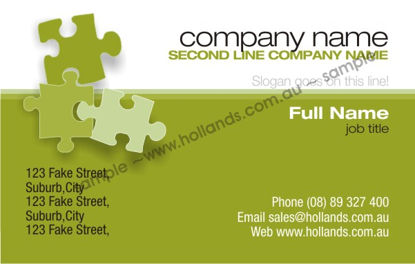 business card template 022 business cards online - Fake Business Cards