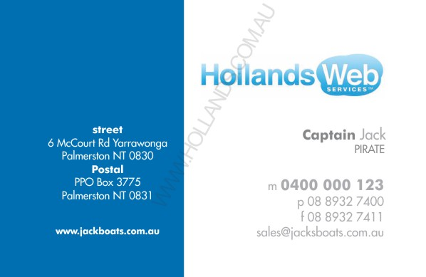 upload logo: Business Cards - the Logo Series 002