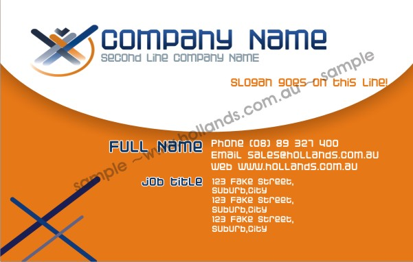 Business card template 032 business cards online flashek Image collections